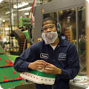 Working at Mold-Rite - employee 3